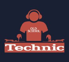 technic DJ t-shirt by retroracing