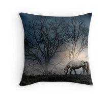 Moonlit Serenity Throw Pillow
