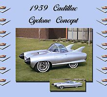 1959 Cadillac-Cyclone Concept by Peter Kennelly