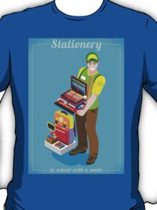Stationer Poster with Chancellery T-Shirt