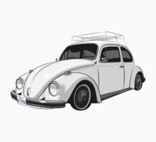Our Late '69 Volkswagen Beetle by Sarah Caudle