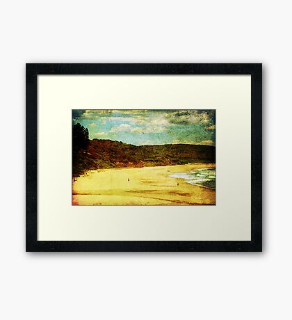 Heaven By The Sea Framed Print