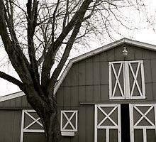Horse Barn by Bobbie J. Bonebrake