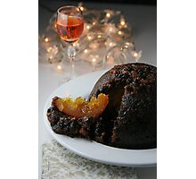 Christmas Pudding Photographic Print