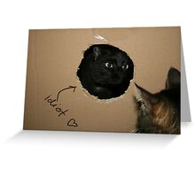 What did you say?! Greeting Card