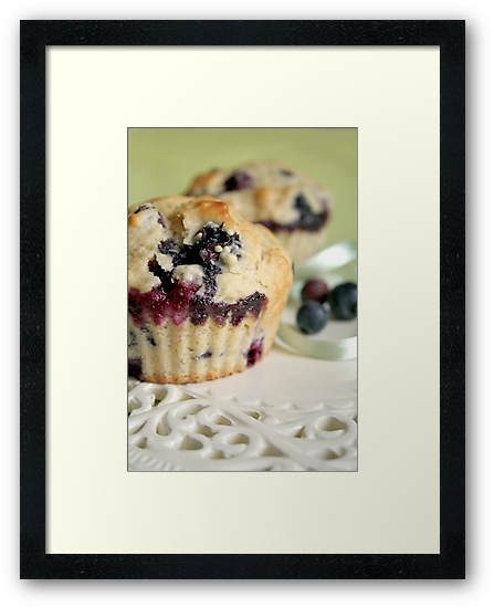 Blueberry muffins by Jeanne Horak-Druiff