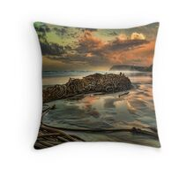 Under the Lighthouse Throw Pillow