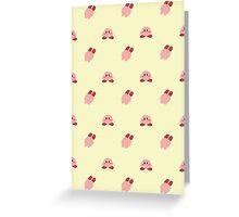 Kirby Tile Greeting Card