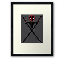 Deadpool - Weapons Framed Print