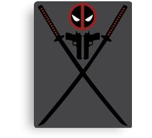 Deadpool - Weapons Canvas Print