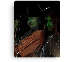 Apprentice and tutor Witch Hazel Canvas Print