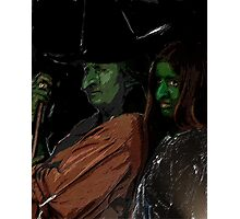 Apprentice and tutor Witch Hazel Photographic Print