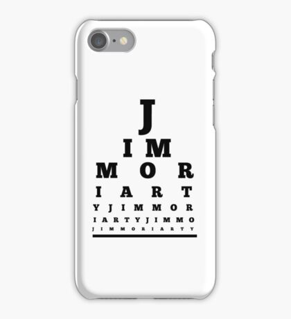 Jim Moriarty T-shirt iPhone Case/Skin