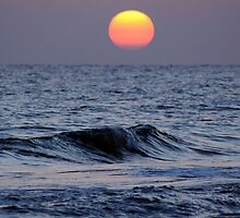 Sunset at Siesta Key by Christopher Herrfurth