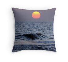Sunset at Siesta Key Throw Pillow