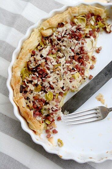 Savoury tart by Jeanne Horak-Druiff
