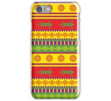 fancy mexican styled pattern iPhone Case/Skin