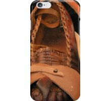 Medieval shoe fashion iPhone Case/Skin