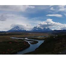 Torres del Paine Valley Photographic Print
