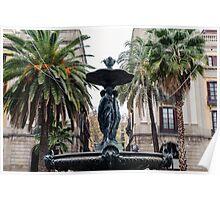Barcelona - Plaza Real  Poster
