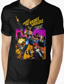 Bronx Warriors Mens V-Neck T-Shirt