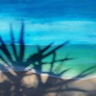 The Aquamarine Sea - Acrylic painting of Key West, Florida by Rick Short