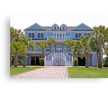 Beautiful home in SC Canvas Print