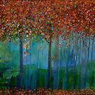 Autumn Trees by Christine Clarke