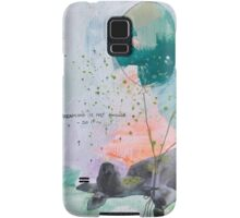 Dreaming is not enough do it  Samsung Galaxy Case/Skin