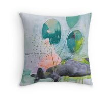 Dreaming is not enough do it  Throw Pillow