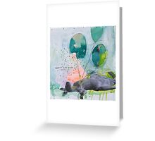 Dreaming is not enough do it  Greeting Card