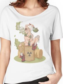 Tank Girl smells like toxic waste Women's Relaxed Fit T-Shirt