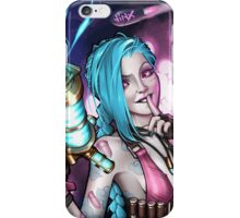 JINX's jinxed portrait! iPhone Case/Skin