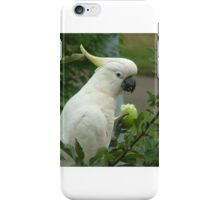 White Cockatoo in an Apple Tree iPhone Case/Skin