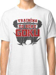 Training to Beat Goku | Dragon Ball Classic T-Shirt