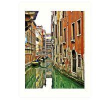 Moments in Venice  Art Print