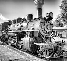 Saturated Steam In B&W by JoeGeraci