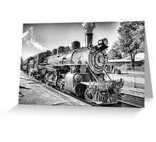 Saturated Steam In B&W Greeting Card