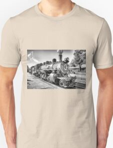 Saturated Steam In B&W Unisex T-Shirt