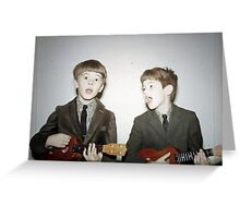 Rockin' the Ukuleles Greeting Card