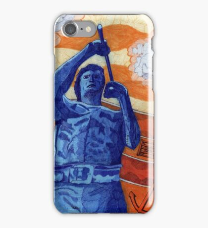 422 - WILLIE CARR - 04 - DAVE EDWARDS - MIXED MEDIA - 2015 iPhone Case/Skin