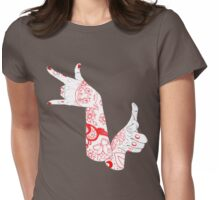 Moon Power Womens Fitted T-Shirt