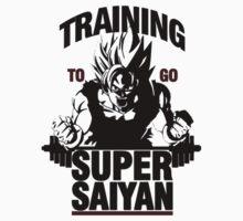 Training to go Super Saiyan   Dragon Ball by TuReyMestizo