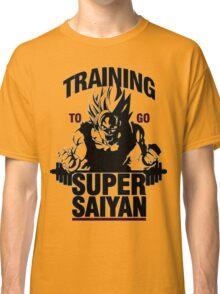 Training to go Super Saiyan | Dragon Ball Classic T-Shirt