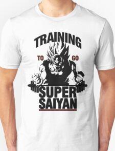 Training to go Super Saiyan | Dragon Ball T-Shirt