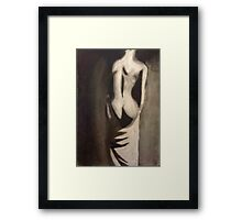 Undressing Framed Print