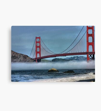 Fog Layer Canvas Print