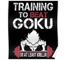 Training to Beat Goku (or atleast Krillin)   Dragon Ball Poster