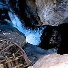 Waterfall - Inside of the mountain by Ann Reece