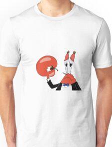 SAD MR CRABS Unisex T-Shirt